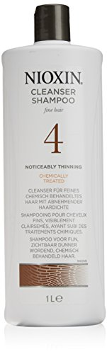 Nioxin System 4 Cleanser, 1000 ml