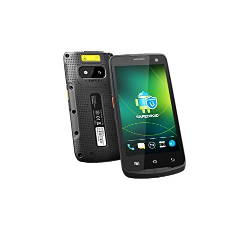 Upgraded Android 8.1 Handheld Mobile Terminal with Honeywell 2D QR Barcode Scanner (N6603) / 13MP Camera/NFC/GPS, 5 Touch Screen, Qualcomm Octa Core CPU, 4G LTE