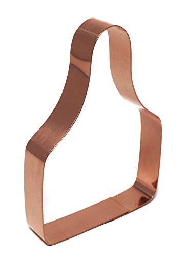 Cattle Ear Tag Copper Cookie Cutter