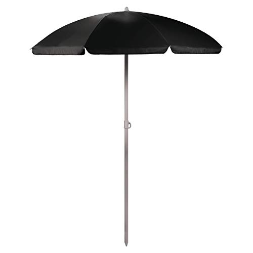 ONIVA - a Picnic Time Brand Outdoor Canopy Sunshade Umbrella 5.5', Black