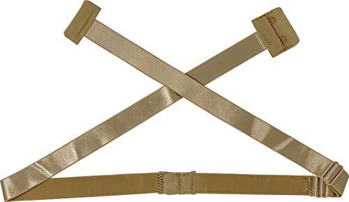 Fashion First Aid Fashion First Aid: Low Expectations BH-Verlängerung Rückenkonverter Erweiterung Tiefer BH-Verschluss Rückenfrei Beige Regular