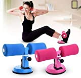 Xenon Venture Home Fitness Equipment Sit-ups and Push-ups Assistant for Lose Weight for Home Gym Men Women with Foam Handle and Rubber Suction(Multi Colour/Medium/1 pcs)