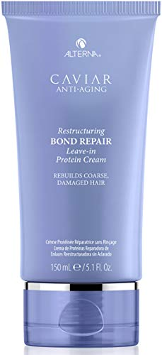 Caviar Anti-Aging Restructuring Bond Repair Leave-in Protein Cream by Alterna for Unisex - 5.1 oz Cr, I0087643