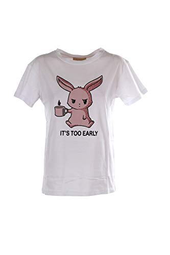 KAOS JEANS T-Shirt Donna S Bianco Mpjmi007 1/20 Primavera Estate 2020