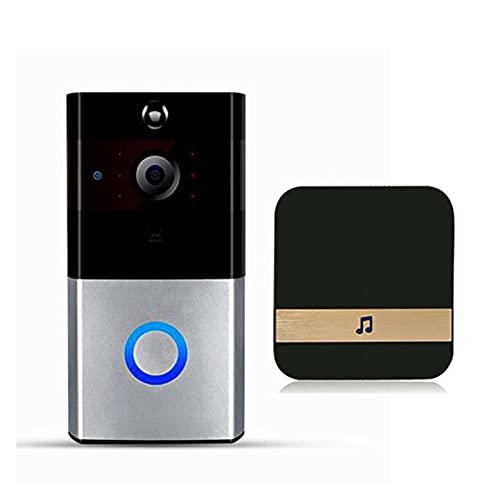 ZHUANQIAN Timbell Chime, Wi-Fi Activado Movimiento Video HD Cambiador Audio Dos Vías Interruptor Control Teléfono Inteligente