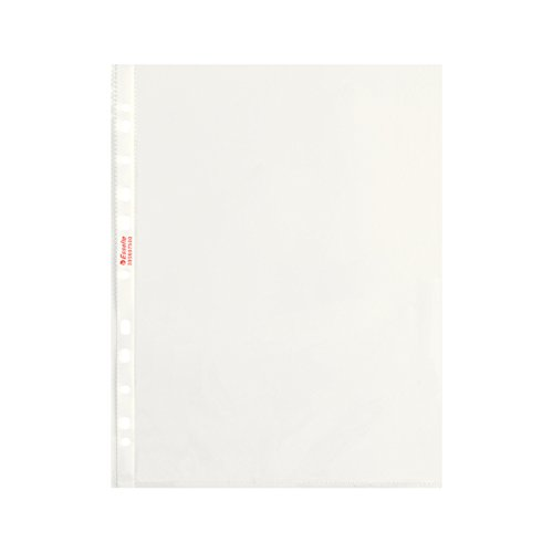 ESSELTE Buste perforate DELUXE - PPL lucido - f.to 22 x 30 cm - 395697500