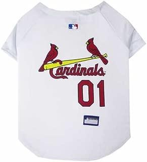 St. Louis Cardinals Dog Jersey Medium