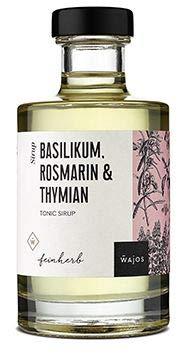 Tonic Sirup Basilikum Rosmarin & Thymian I Wajos 200ml (Basilikum Rosmarin & Thymian)
