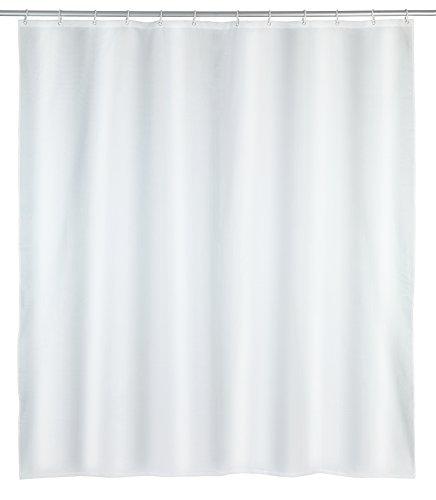 Wenko douchegordijn, polyester, wit, 180 x 200 cm