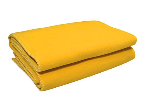 Zoeppritz Soft-Fleece Decke 110x150 Curry
