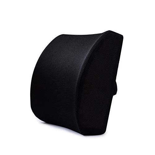 Almohada De Soporte Lumbar De Espuma Viscoelástica Con Cubierta De Malla 3D Diseño De Firmeza Equilibrada, Descanso Suave Para La Oficina Trasera - Protector Ortopédico Para Masaje De Alivio