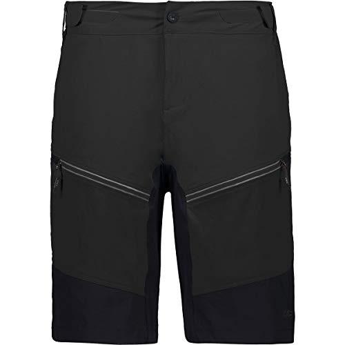 CMP Herren Mesh Bike Bermuda Shorts, Nero, 54