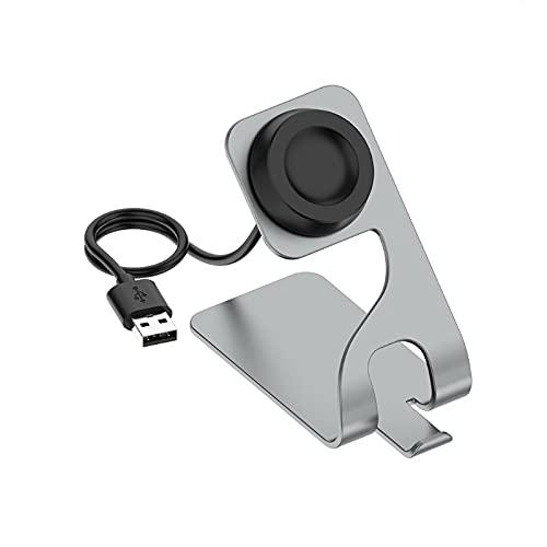 dedepeng Compatible con Huawei Watch3/GT2 Pro, cable de carga, soporte de carga magnético, soporte de carga USB para varios relojes
