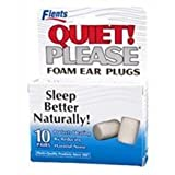 Flents Quiet Please Foam Ear Plugs - 10 Pair, (Pack of 4) by Flents