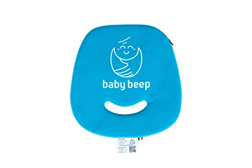 Baby Beep Coussin Bluetooth anti-abandon universel pour siège auto Azzurro Mare