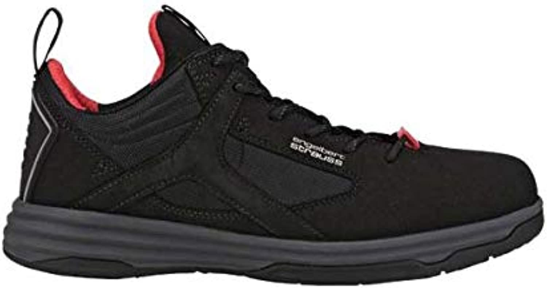 Enyellowert Strauss Polana Low 8P93.71.7.42 Safety shoes Size 42 Black