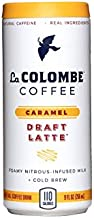 La Colombe Caramel Draft Latte - 9 Fluid Ounce, 12 Count - Cold-Pressed Espresso and Frothed Milk + Real Caramel - Made With Real Ingredients - Grab And Go Coffee