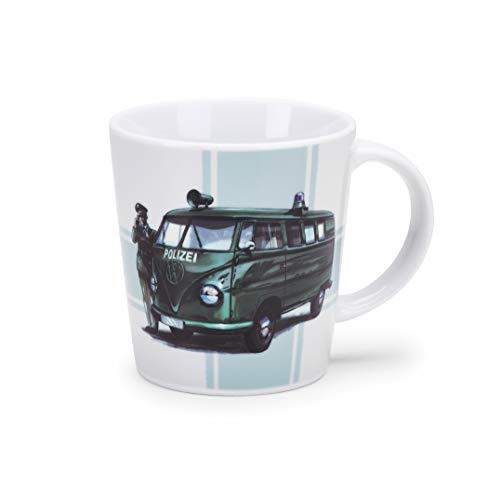 Volkswagen 1H1069601A Tasse, Becher, T1, Polizei Motiv, Limitierte Auflage