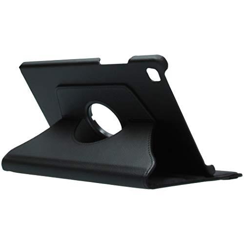 IMOSHION Funda compatible con Samsung Galaxy Tab A7 – 360 ° con función de soporte y encendido/apagado automático, color negro