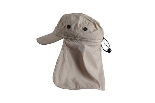 Basic Nature Legionärskappe mit Nackenschutz Größe L, Kopfbedeckung, Sonnenschutz