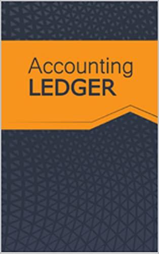Accounting Ledger (English Edition)
