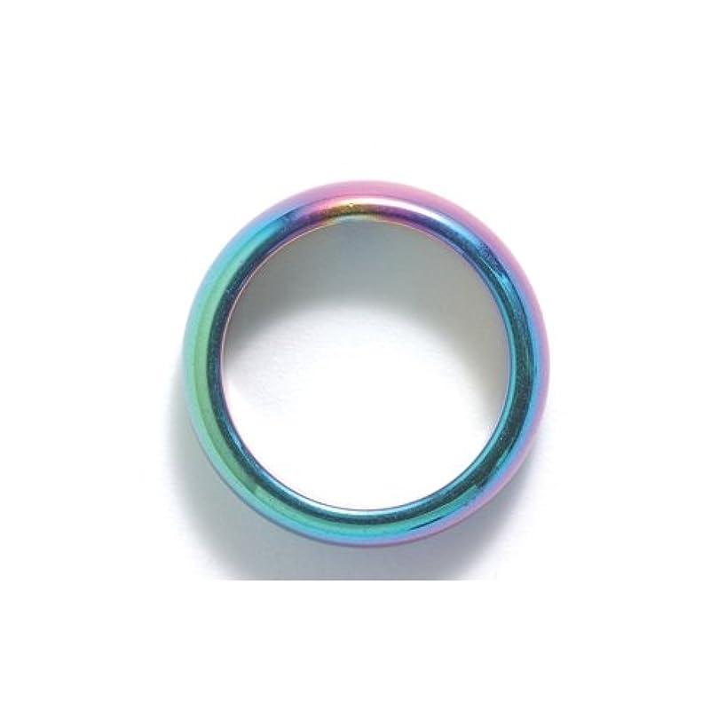 Shipwreck Beads Hematite Iris Ring, Size 7, 2-Pack