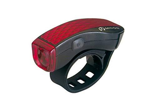 ONOGAL Luz Delantera de 1 Led Rojo Ultra Brillante con 3 Funciones M-3R para Bicicleta 6007
