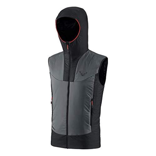 DYNAFIT M Speed Insulation Hooded Vest Grau, Herren Primaloft Weste, Größe M - Farbe Magnet