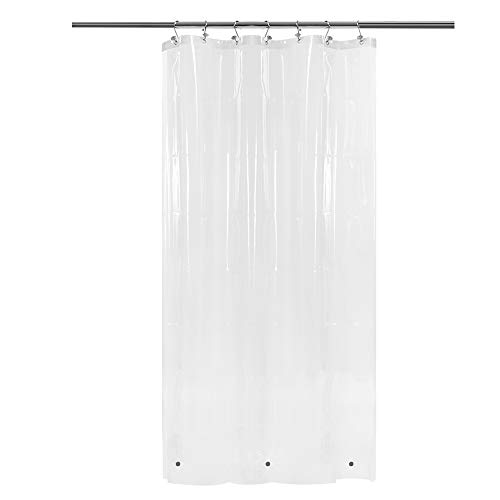 Small Shower Curtain or Liner with 3 Magnets for Shower...