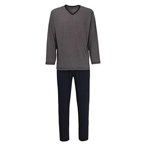 Ceceba Herren Nachtwäsche Zweiteiliger Schlafanzug, Pyjama lang, aus Baumwolle 60