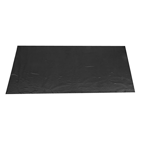 Aeloa Mantel para Banquete 145x320cm Cubierta de Mesa en Forma de rectángulo para Restaurante de Banquetes de Boda(Negro)
