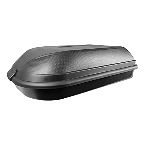 CAM Diamond 340 Hard-Shell Vehicle Rooftop Cargo Carrier, Universal Mount Fits Most Car Roof Racks,...