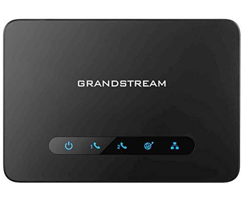 Grandstream HT-812 2FXS Gateway schwarz