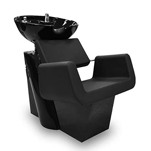 ARON Shampoo Backwash Unit w/Shampoo Bowl, Sink & Faucet for Beauty Salon, Barber Shop, Spa, Rehab