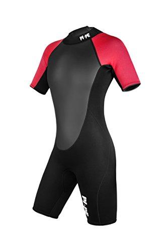 Active Spring Short Sleeve Neoprenanzug, rot/schwarz