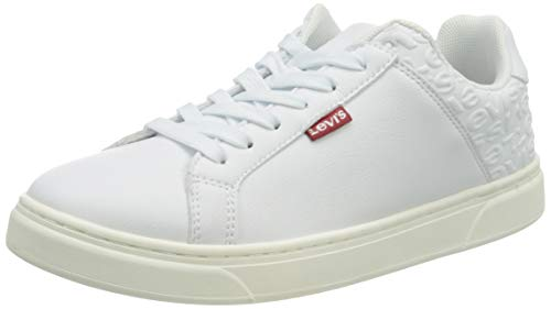 LEVIS FOOTWEAR AND ACCESSORIES CAPLES W, SCARPE DONNA BIANCO, 39