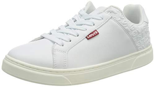 LEVIS FOOTWEAR AND ACCESORIOS CAPLES W, zapatos para mujer, blanco, 41