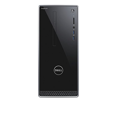 Dell Inspiron 3668-1677 Desktop PC (Intel Core i5-7400, 1000GB harde schijf, 128GB SSD, 8GB RAM, Nvidia GeForce GT 1030, DVD-RW station, Windows 10 Home) zwart
