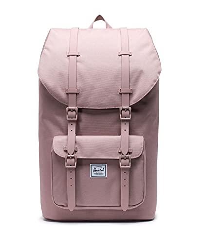Herschel Little America Laptop Backpack, Ash Rose, Classic 25.0L