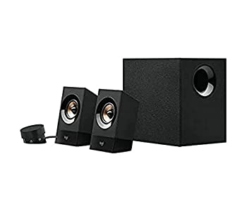 Logitech Z533 2.1 Multimedia Speaker System with Subwoofer Powerful Sound 120 Watts Peak Power Booming Bass 3.5mm Audio and RCA Inputs PC/PS4/Xbox/TV/Smartphone/Tablet/Music Player/EU Plug only