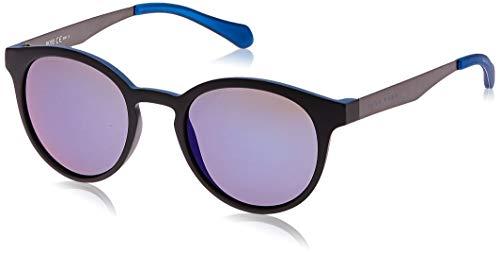 Hugo Boss 0869/S XT 0N2 Gafas de sol, Negro (Mtblck Dkrut/Blue Sky Grey Speckled), 51 Unisex-Adulto