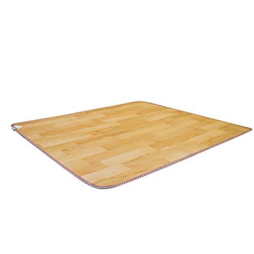 LCJ Mobile Fußbodenheizung Matte - Multifunktionale Heizmatte mit intelligenter Temperaturregelung für die Kissenheizung mit Kohlenstoffkristallen,Fußbodenheizung im Arbeitszimmer/in der Yoga-Halle