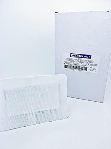 Mediplast non-woven Eilandpleister 10cm x 15cm - Doos 50 Stuks