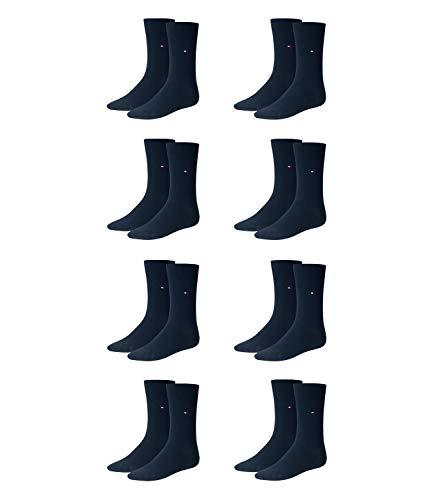 TOMMY HILFIGER Herren Classic Casual Business Socken 8er Pack ( Dark Navy , 39-42 )