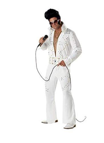 California Costumes 00958 - Leggenda del Rock Elvis Costume for Adult Men Taglia Small