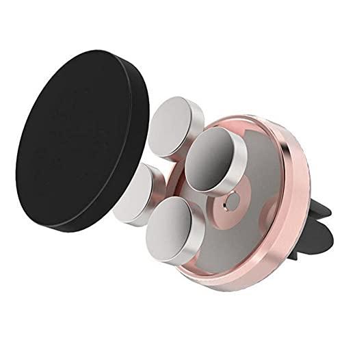 USNASLM 360 Soporte magnético para teléfono GPS para coche, soporte de ventilación de aire, soporte para teléfono de coche, soporte para teléfono de coche, soporte para teléfono de coche