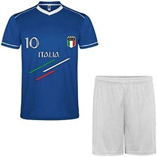 7363f0e6d40db ROLY Ensemble de Sport Maillot et Short de l'Italie Enfant