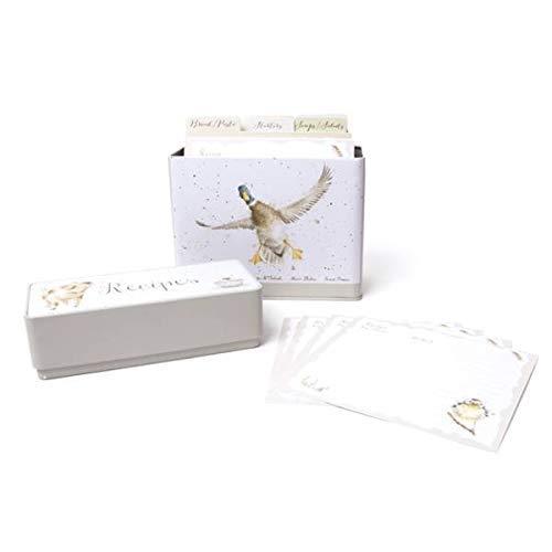 Wrendale Blechdose – Rezepte mit Karten und Trennwänden von Wrendale