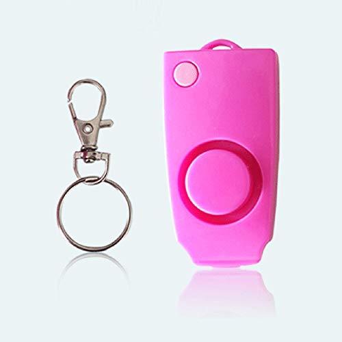 BianchiPamela Personal Anti Rape Alarm Keychain 130dB SOS Emergency Self Defense Alarms