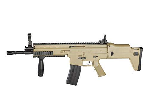 Rayline 8902A Tan Softair Gewehr (Manuell Federdruck), Material: ABS (Stoßfest), Nachbau im Maßstab 1:1, Länge: 85cm, Gewicht: 1400g, Kaliber: 6mm, Farbe: FDE - (unter 0,5 Joule - ab 14 Jahre)